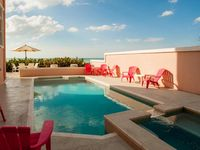Luxury 5 Bedroom Gulf Front Villa ~ Private Heated Pool and Spa ~ Sleeps 12