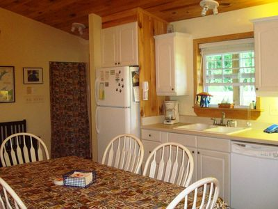 Watauga Lake cabin rental - Other half of big open country Kitchen