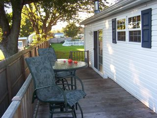 Rehoboth Beach house photo - Enjoy coffee on the deck every morning!