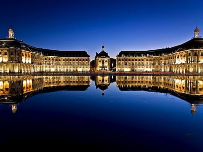 View of Bordeaux - Place de la Bourse