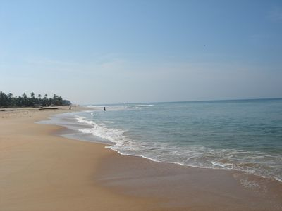 South Goa villa rental - Looking South incredible !