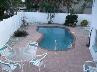 Your own private in-ground heated pool with fully fence private back yard