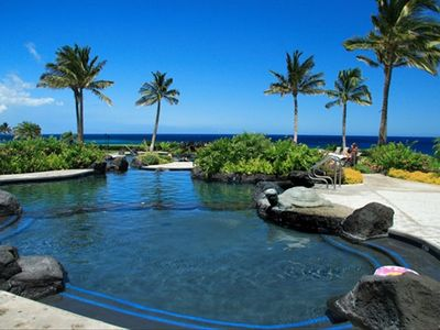 Waikoloa Beach Resort condo rental - Lovely oceanside pool