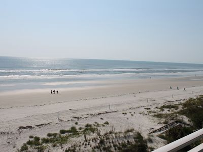New Smyrna Beach condo rental - Another view from the balcony