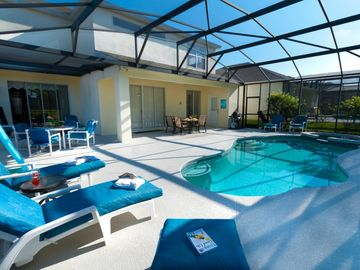 Haines City villa rental - Our stunning Orlando villa!