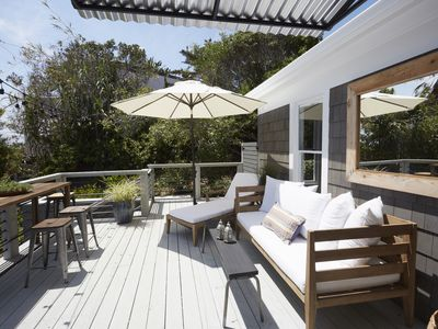 Outdoor Deck - This outdoor deck is your space to enjoy ocean breezes and California sun.