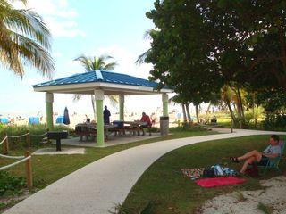 Pompano Beach villa photo - Pavilions are here for picnics or to just relax with a good book or your Ipad.