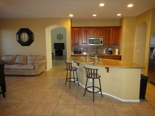 Peoria house photo - Luxury kitchen, granite countertops, Guide to Local Destinations including menus