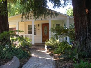 Sonoma cottage photo - Come inside and take a look around!