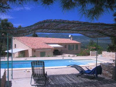 Cottage, ideal for 2 people, 2 large rooms, 50m2, quiet, great views over the Luberon