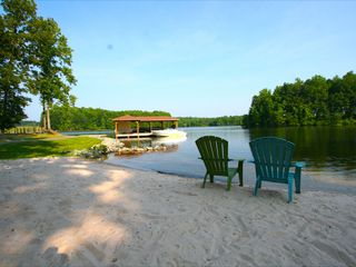 Lake Anna cottage photo - Beach and Dock