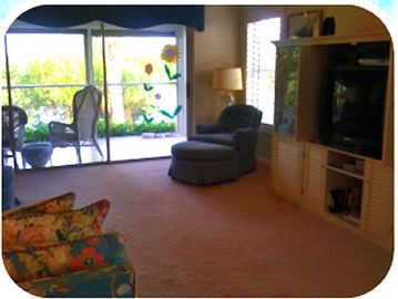 View of Living Room and Lanai