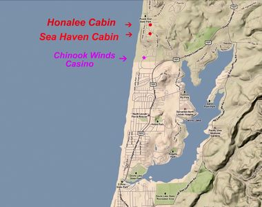 Sea Haven and Honalee are just a few blocks north of the casino