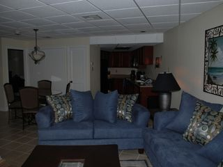 South Padre Island condo photo - Beautifully furnished living area