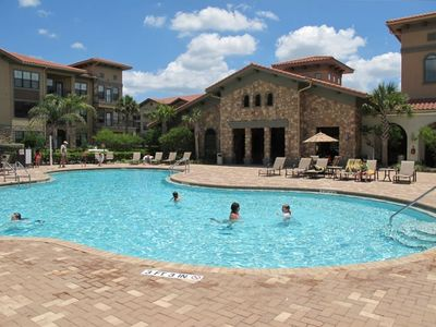 One of Three Resort Pools