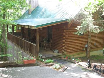 Pigeon Forge cabin rental - Spring/Summer View of The Bears Den