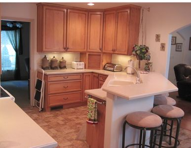 Whitefish house rental - Kitchen