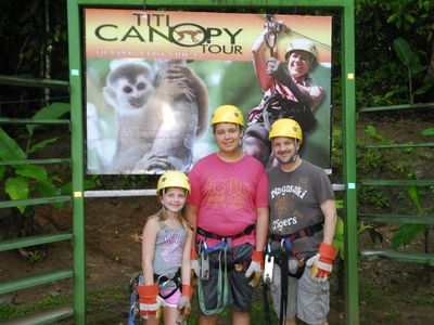 Best Canopy Tour Very close to house & professional!