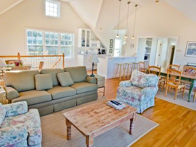 Chappaquiddick house rental - View From Living Area Over To Kitchen