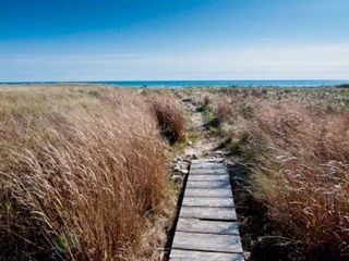 Chilmark cottage photo - Pond House Beach Path To Property's Private Stonewall Beach