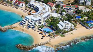 Simpson Bay studio photo - Aerial View of the Flamingo Beach Resort