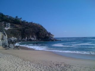 Huatulco villa photo - Beautiful view at the beach