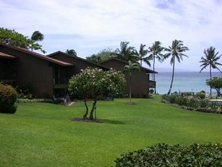 Honokowai condo photo - Grounds and ocean