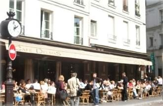 Place de La Contrescarpe and its famous Café Delmas
