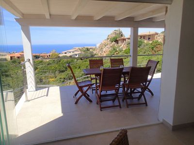 Beautiful detached 3 or 4 bed villa, sea views, private pool and large terrace