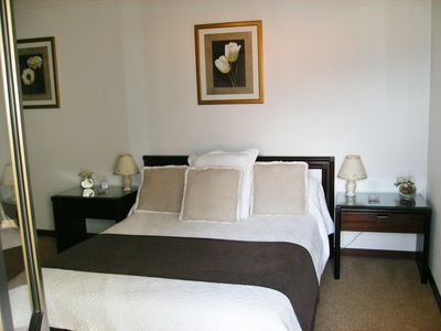 Funchal apartment rental - Main bedroom with ensuite bathroom