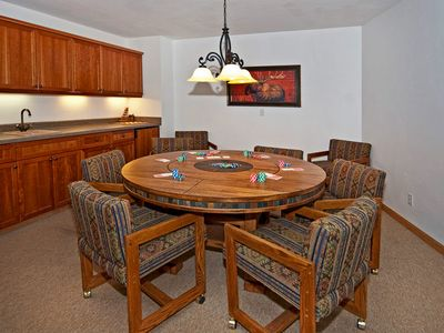 Game & extra dining table