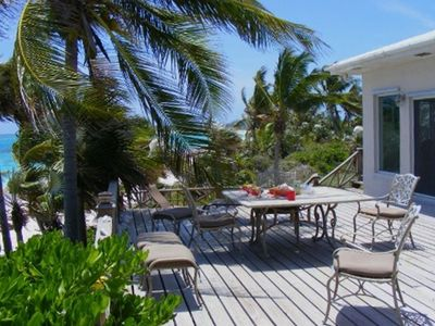 You could be relaxing on the mulit-level deck with the warm Bahama breezes