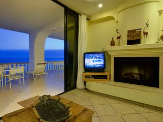 Rosarito Beach condo photo - Fireplace