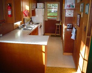 Lake Winnisquam cottage photo - Kitchen