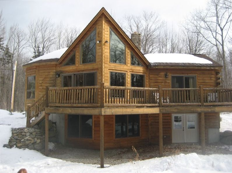 Family ski and lake retreat vrbo for Prow front home plans