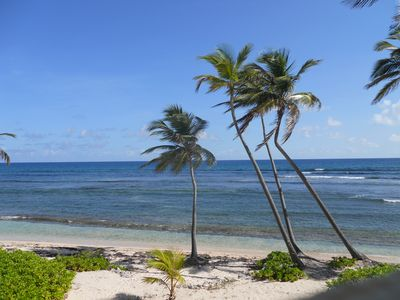 St. Croix condo rental - view from nearby beach