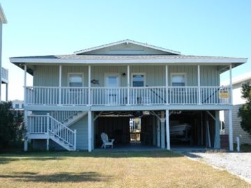 Holden Beach house rental - Street view