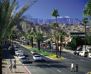 Palm Desert house photo - El Paseo. The Rodeo Drive of the desert. Just a few miles away.