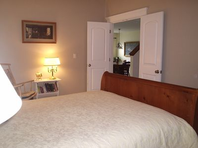 Camden house rental - Entrance Master Bedroom to Living & Dining Room