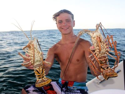Lobstering in the Sea of Abaco
