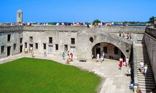 St. Augustine Beach house photo - Castillo de San Marcos interior view