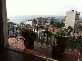 Puerto Vallarta condo photo - Looking towards the ocean from our balcony