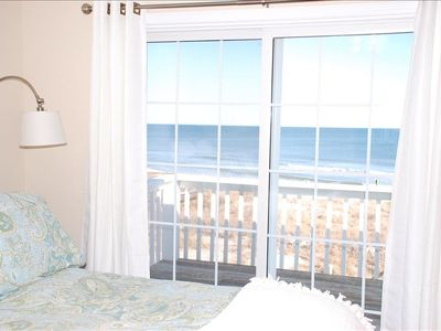 Kure Beach house rental - View from Master Bedroom