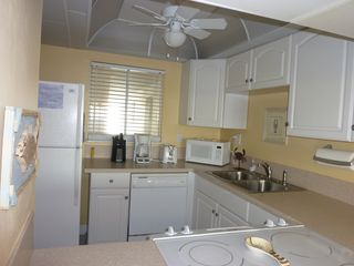 The newly remodeled kitchen. - Fort Walton Beach condo vacation rental photo