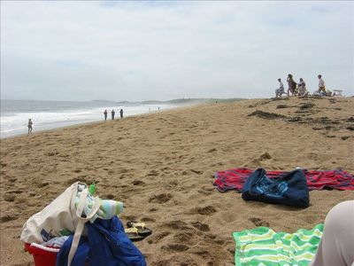 Reid State Park or Popham Beach offer great beaches, worth the 50 minute drive.