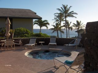 Poipu condo photo - Hot Tub with Majestic Pacific