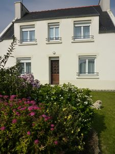 4chambres POULDREUZIC, Breton house with garden, 6 pers.