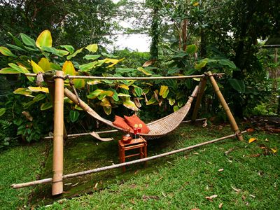 One of the Many Ways to Relax at Mika Taki – a Hammock Swing