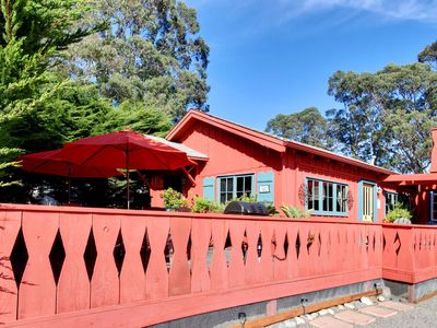 Santa Cruz house rental - Ocean View Cottage Four Homes from the Beach
