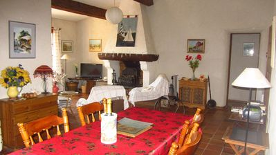 Cavalaire-sur-Mer villa rental - lounge and dining room